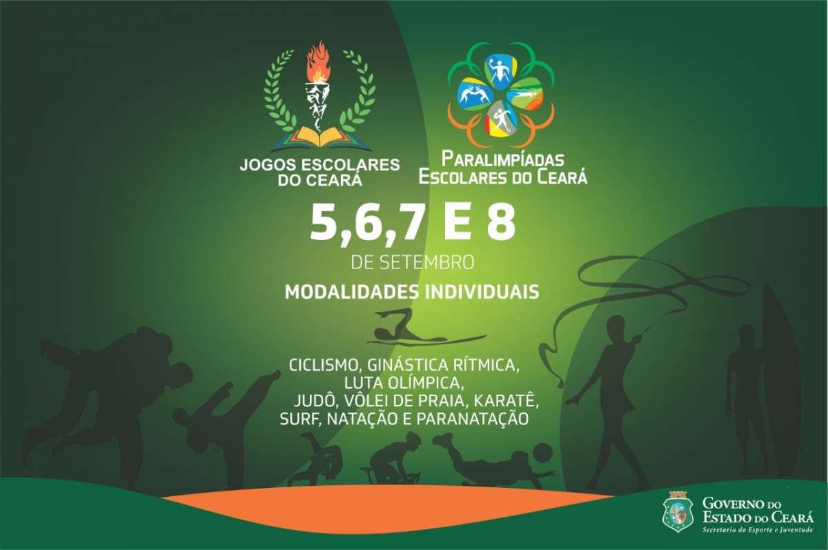 banner Jogos Escolares do Ceará 2019
