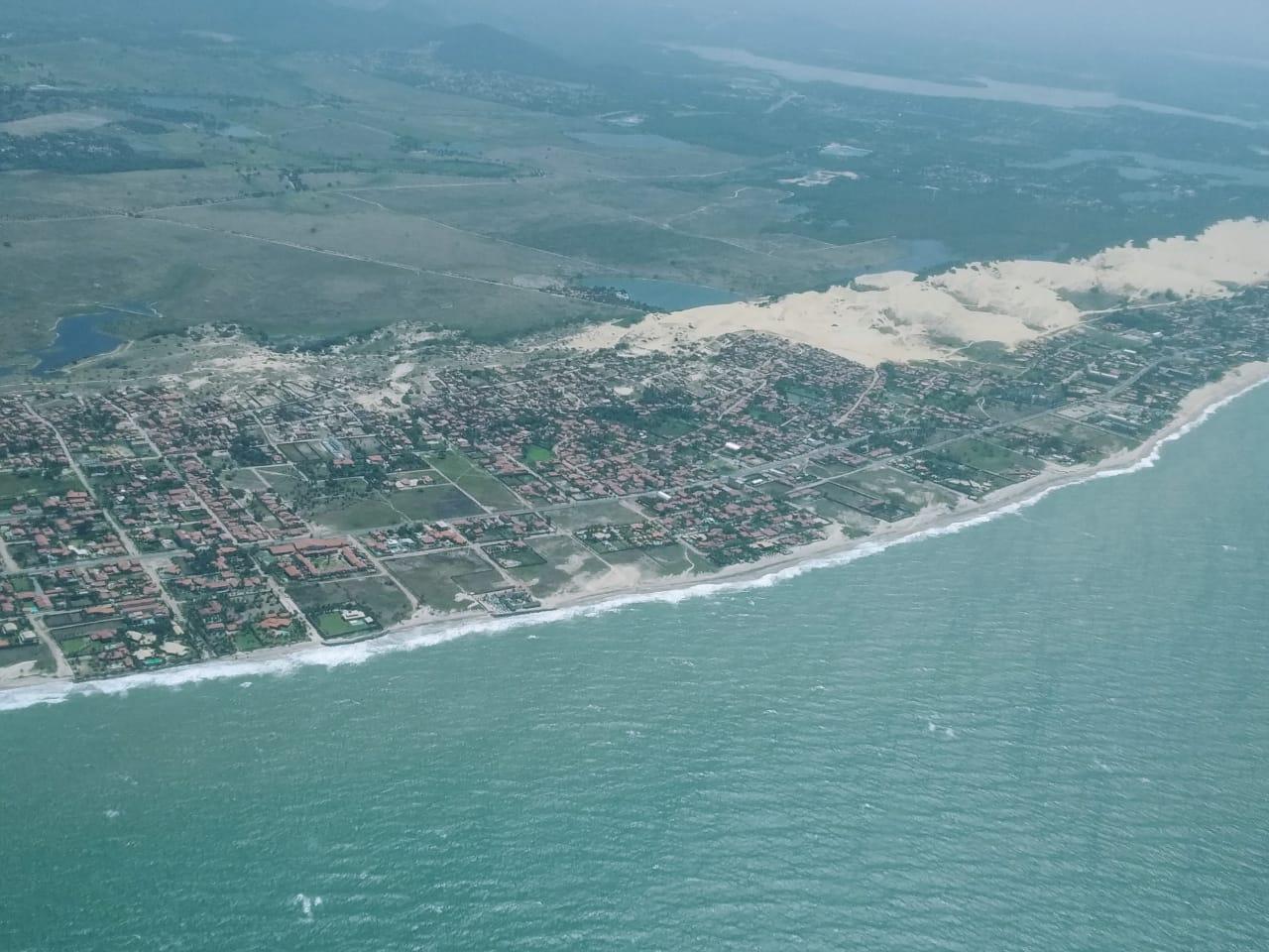 Semace não detecta mancha de óleo no litoral cearense