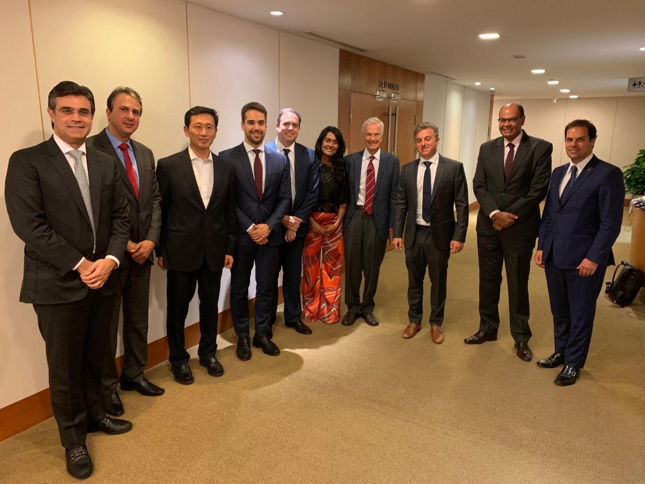 Governador discute gestão pública e educação em Singapura