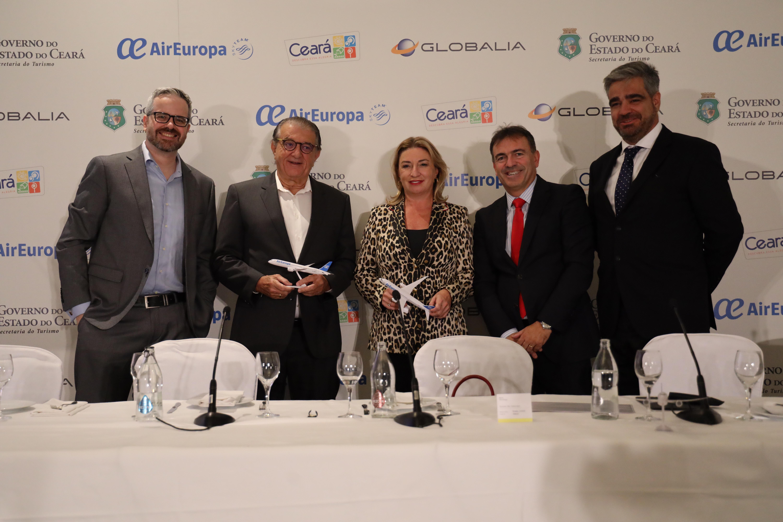 Voo Madri/Fortaleza é lançado oficialmente na capital espanhola