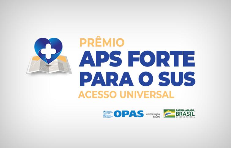 banner do prêmio nacional de Atenção Primária à Saúde