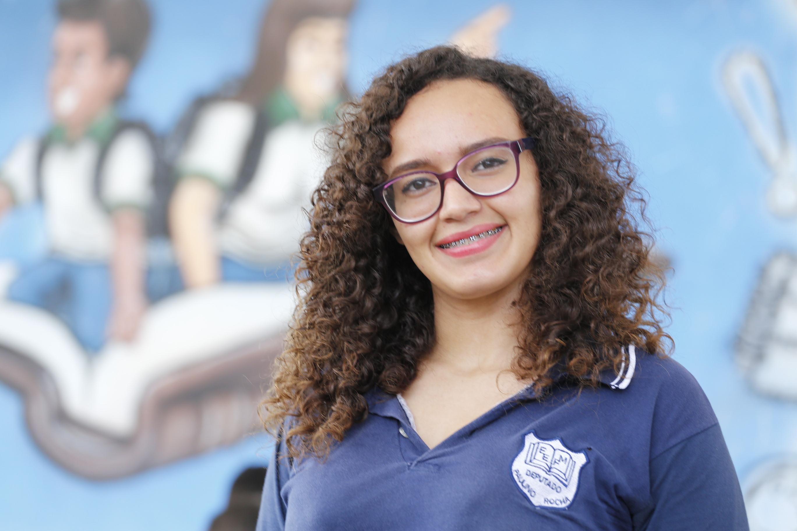 aluna da EEFM Deputado Paulino Rocha