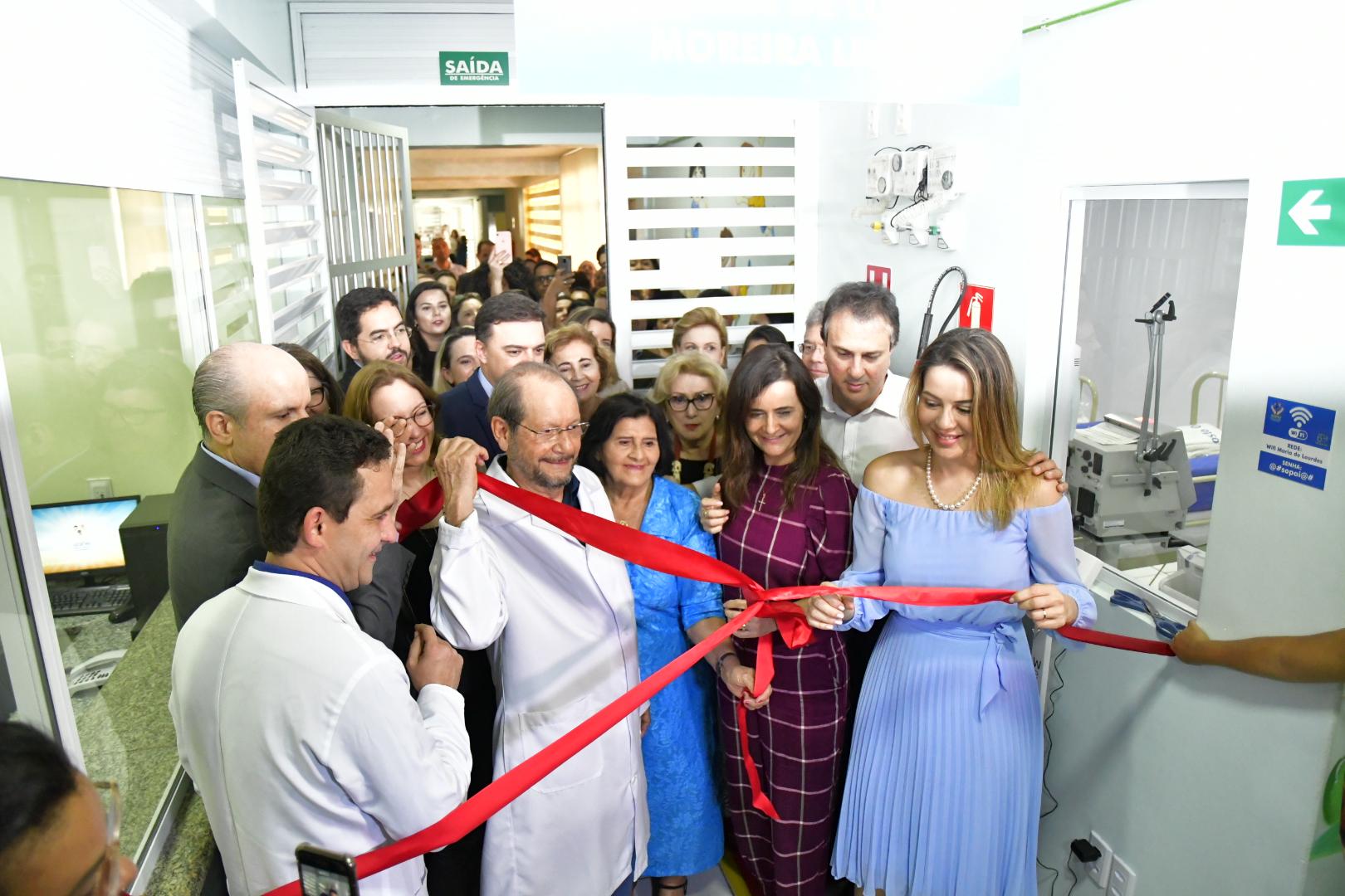 Inauguração de novos leitos de UTI
