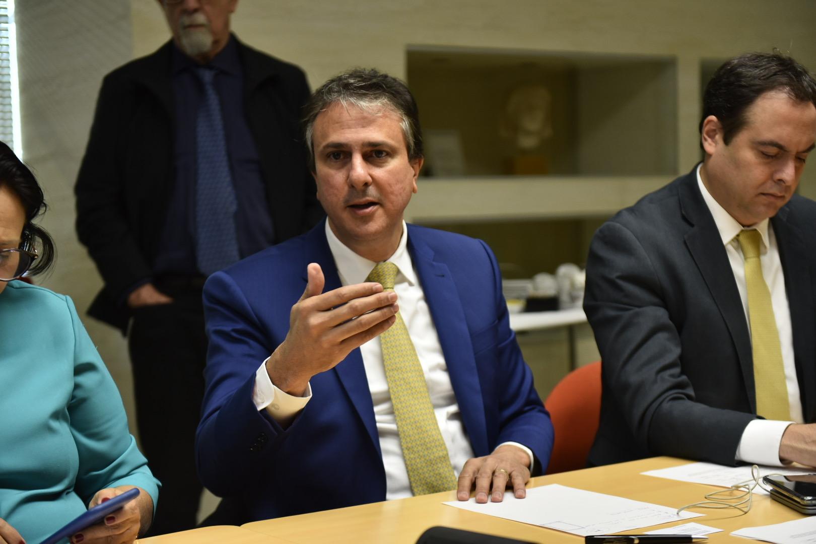 Governador propõe projeto integrado de abastecimento