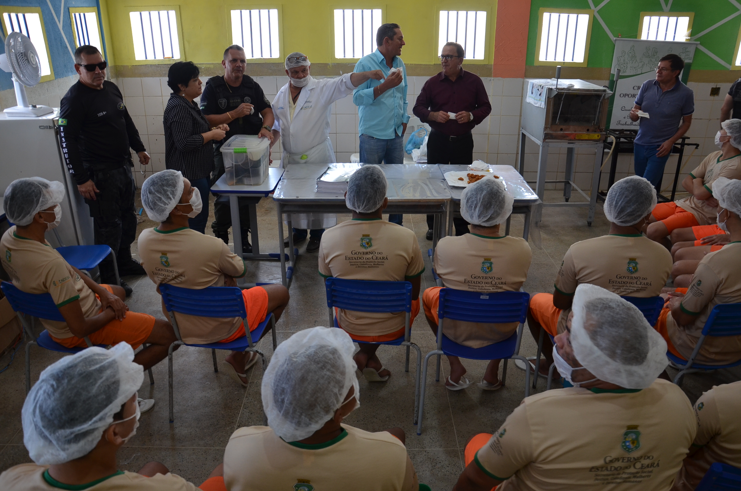 Unidades prisionais recebem visita técnica da Prefeitura de Itaitinga e empresários investidores - Ceará