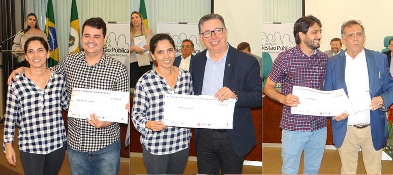 autores dos artigos vencedores do XV Encontro Economia do Ceará em Debate