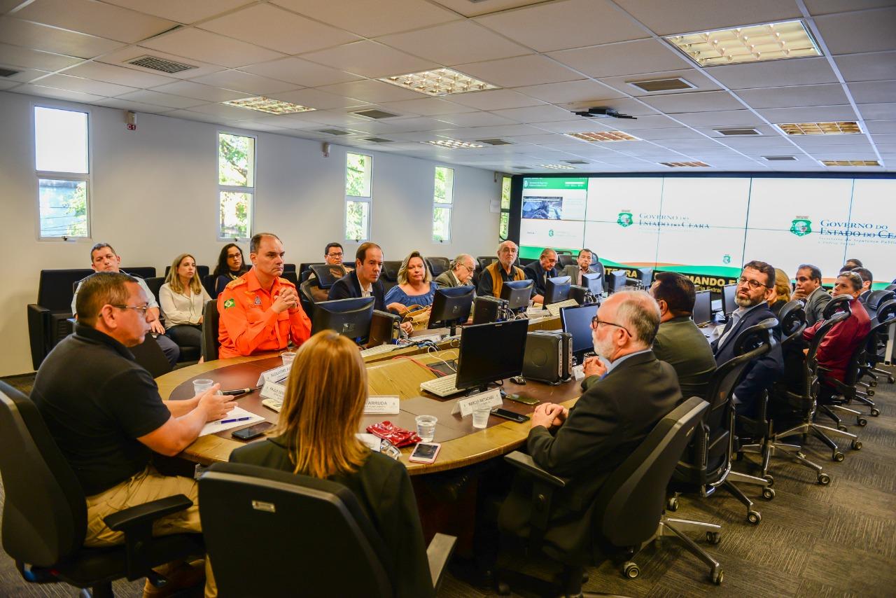 SSPDS apresenta estrutura dos órgãos de segurança a membros da Sociedade Consular