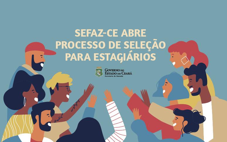 Banner seleção de estagiários para a Secretaria da Fazenda