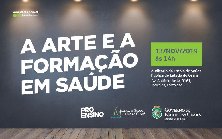Banner Proensino - A Arte e a Formação em Saúde
