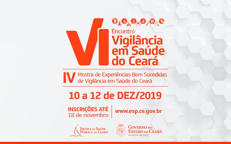 Banner do VI Encontro de Vigilância em Saúde