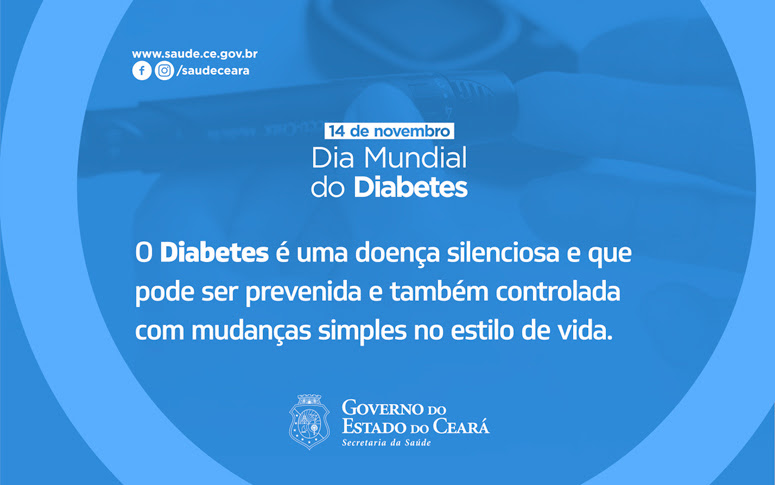 Banner dia Mundial do Diabetes