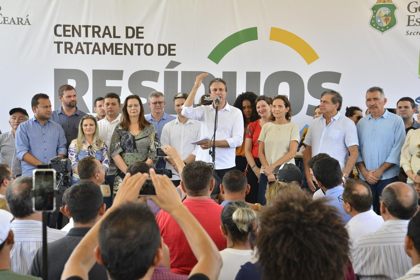 Central de Tratamento de Resíduos é inaugurada em Sobral