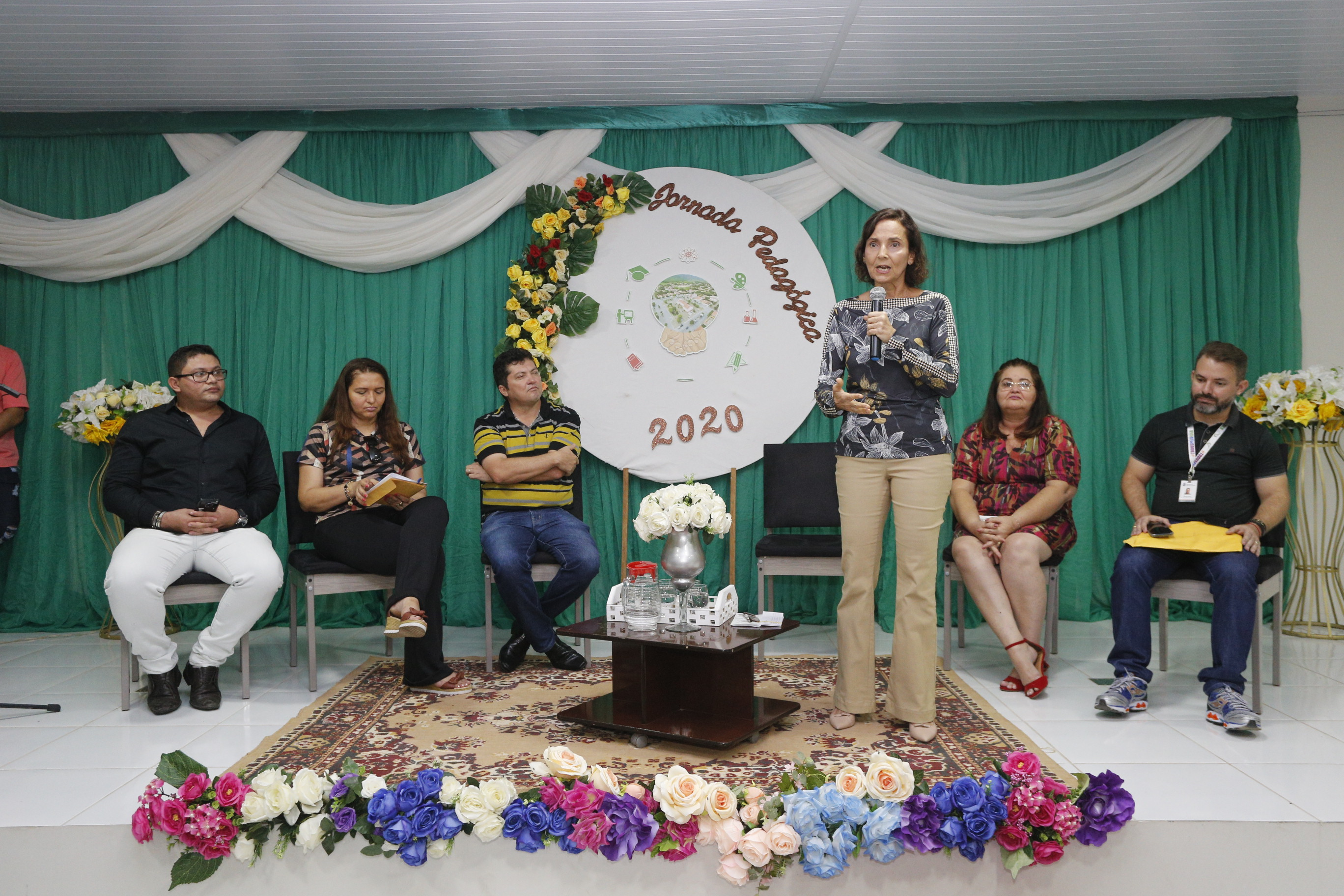 Abertura da Jornada Pedagógica de Ararendá