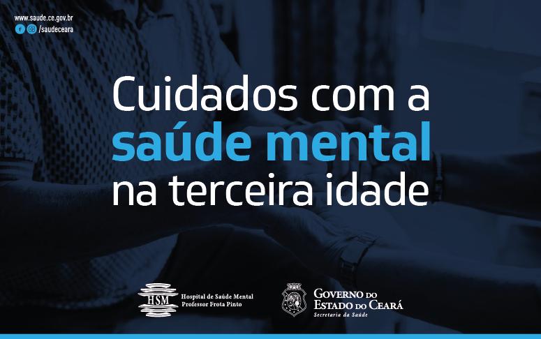 Banner cuidados com a saúde mental na terceira idade