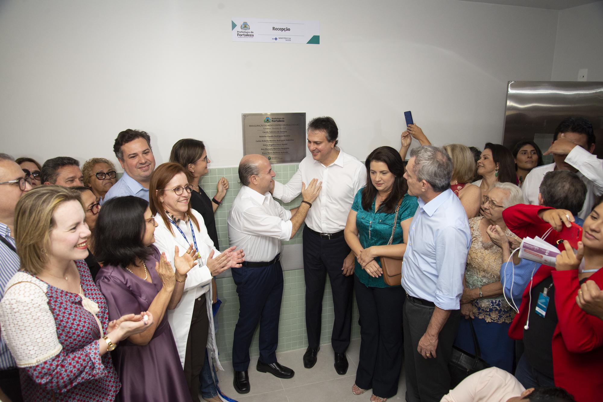Inauguração do novo Centro Cirúrgico do IJF