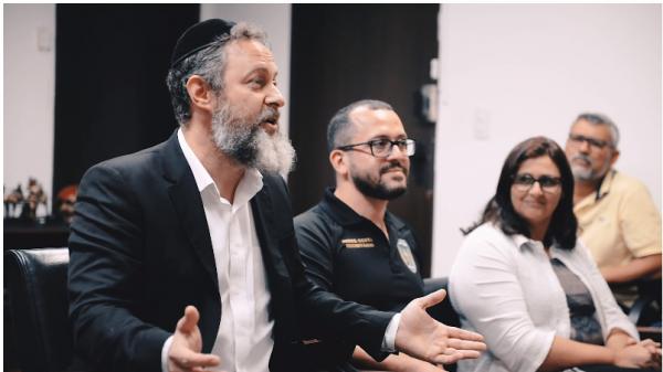 Encontro com comunidade judaica