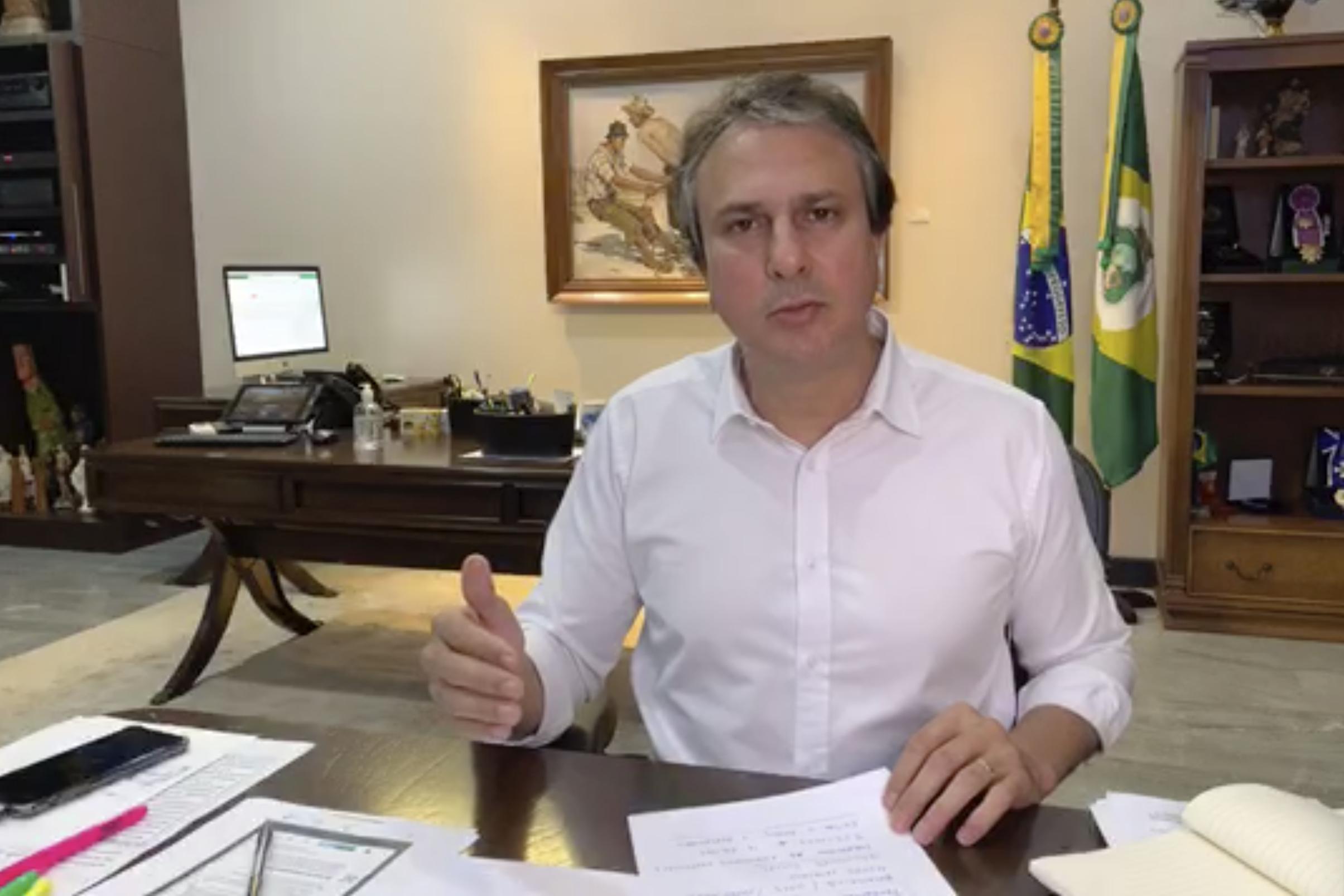 Governador prorroga decreto estadual de isolamento social por mais sete dias