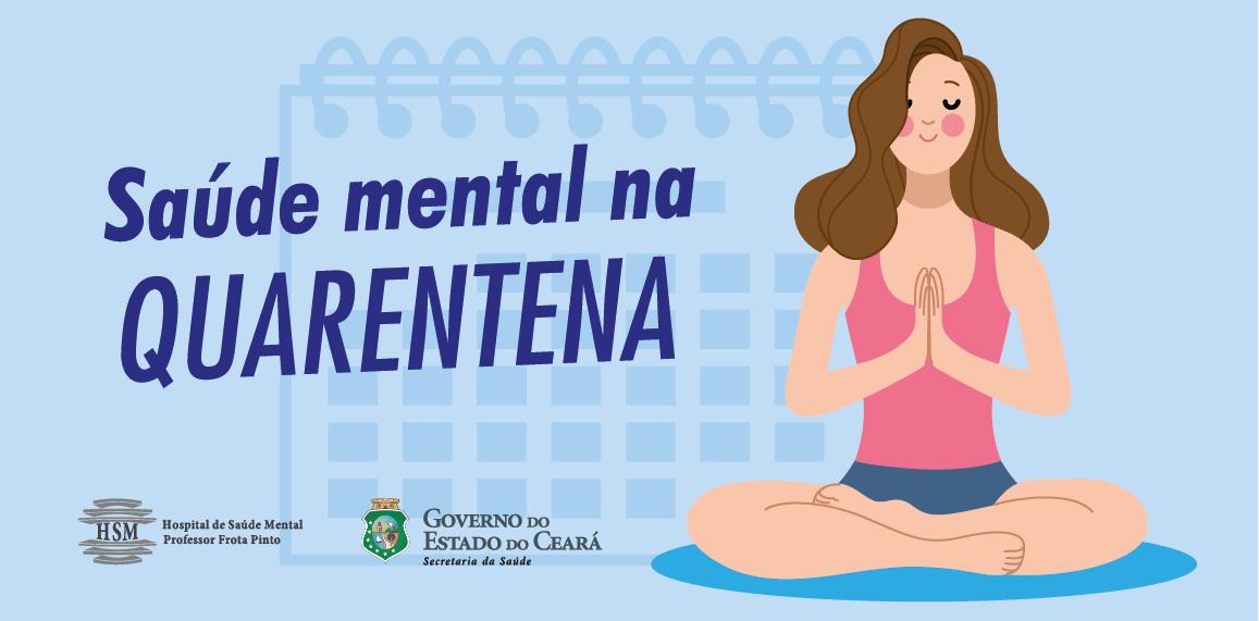 Banner Saúde Mental na Quarentena
