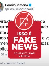 Fake News: Decreto do Governo do Ceará não proíbe comercialização de bebidas alcoólicas