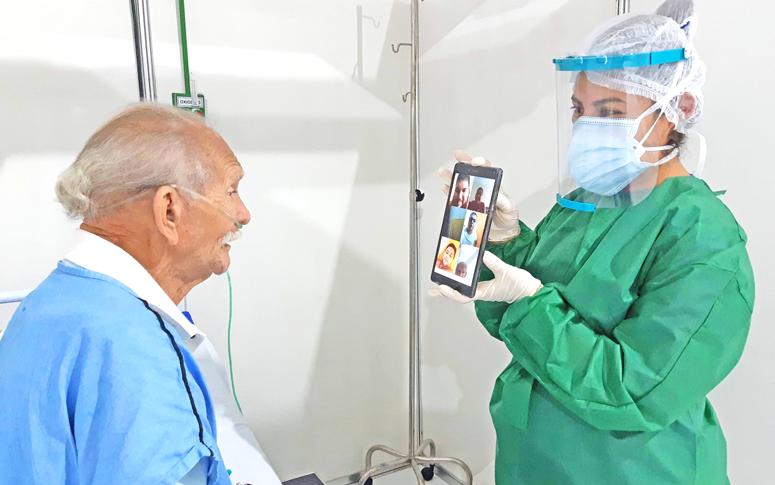 Unidades da rede estadual de saúde investem em tecnologia para aproximar  pacientes e familiares - Governo do Estado do Ceará