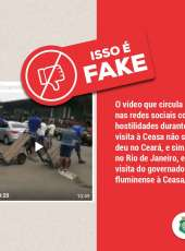Vídeo de governador hostilizado em Ceasa não é no Ceará