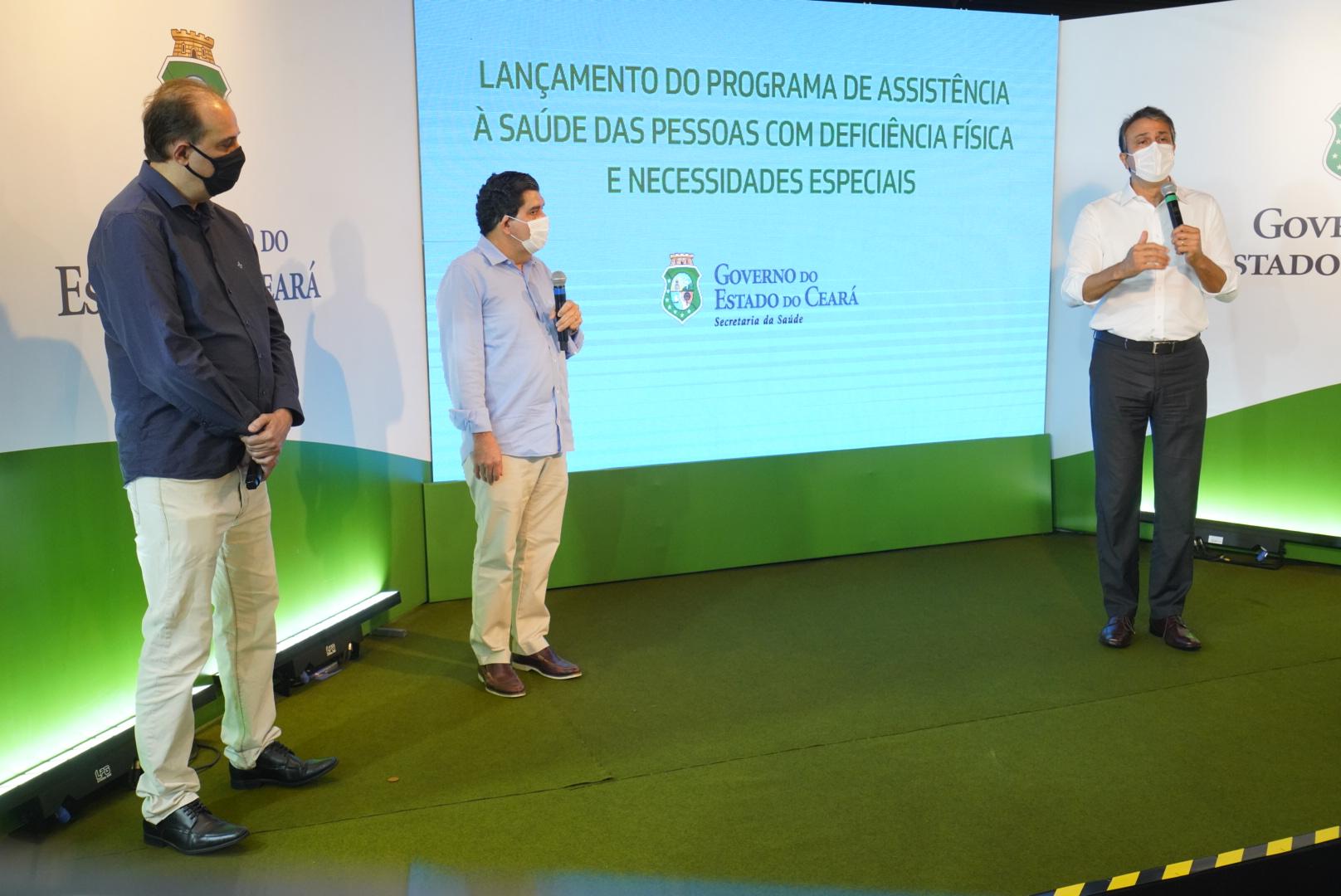 No Dia Internacional das Pessoas com Deficiência, Ceará lança programa para descentralizar serviços