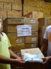 Covid-19: 72 mil máscaras são distribuídas para população de cinco municípios cearenses