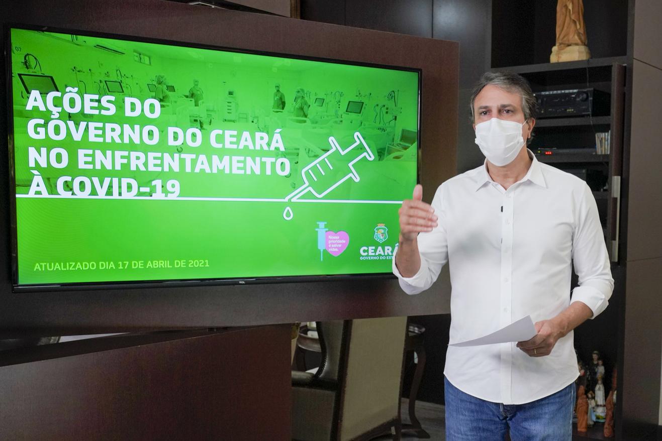 Ceará renova decreto sobre retomada da economia e libera atividades físicas individuais em locais públicos