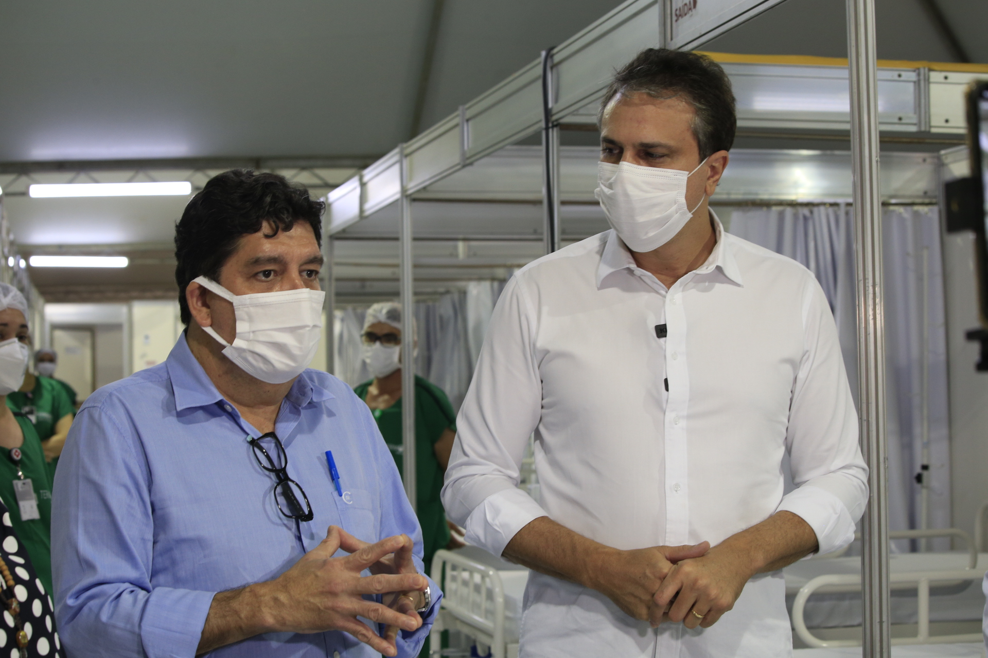 210426 INAUG CAMPANHA HRC NIU8620 - Entrega de 50 leitos de enfermaria em Juazeiro do Norte amplia capacidade de atenção a pacientes com Covid no HRC