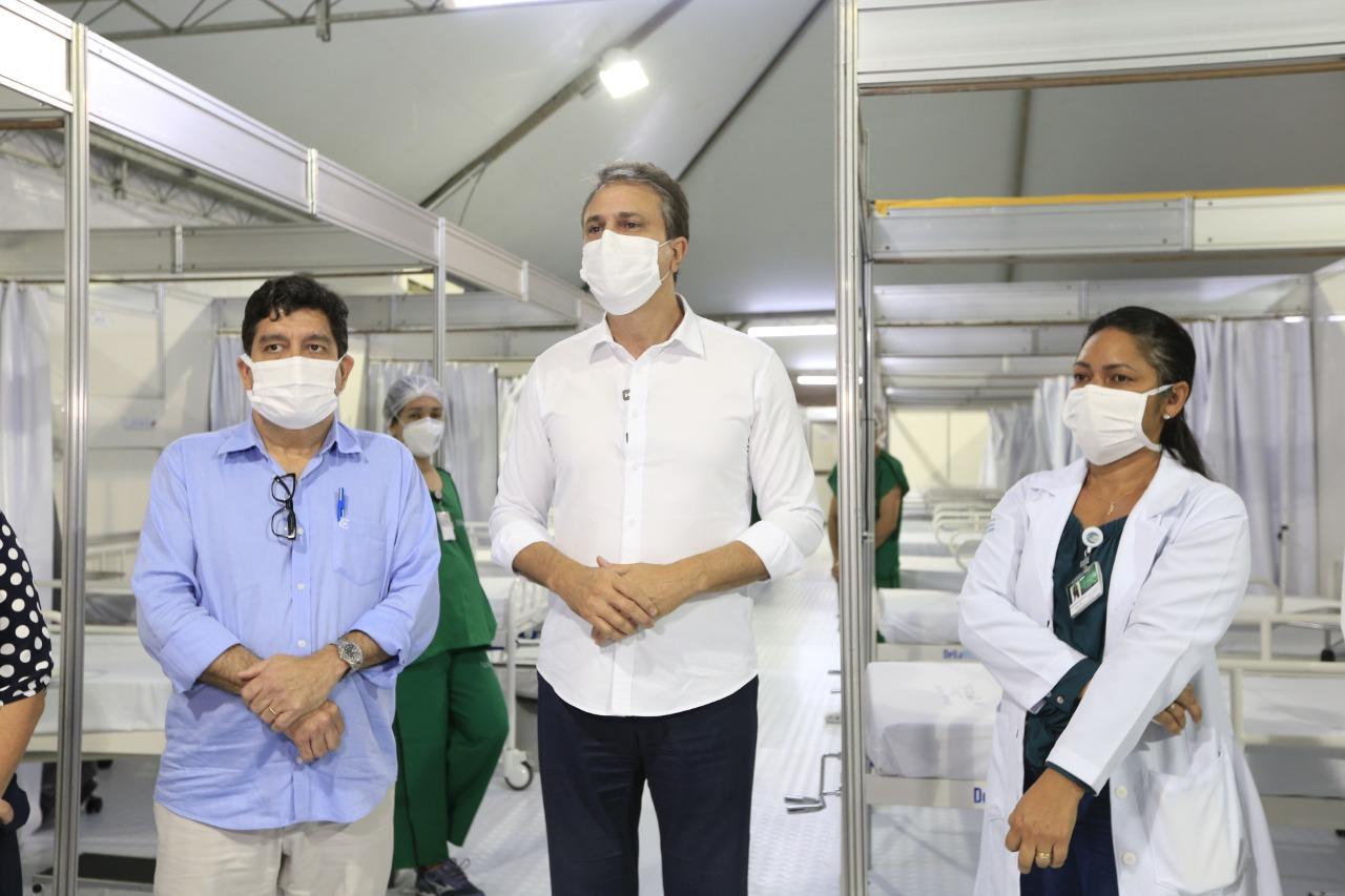 WhatsApp Image 2021 04 26 at 21.17.30 - Entrega de 50 leitos de enfermaria em Juazeiro do Norte amplia capacidade de atenção a pacientes com Covid no HRC