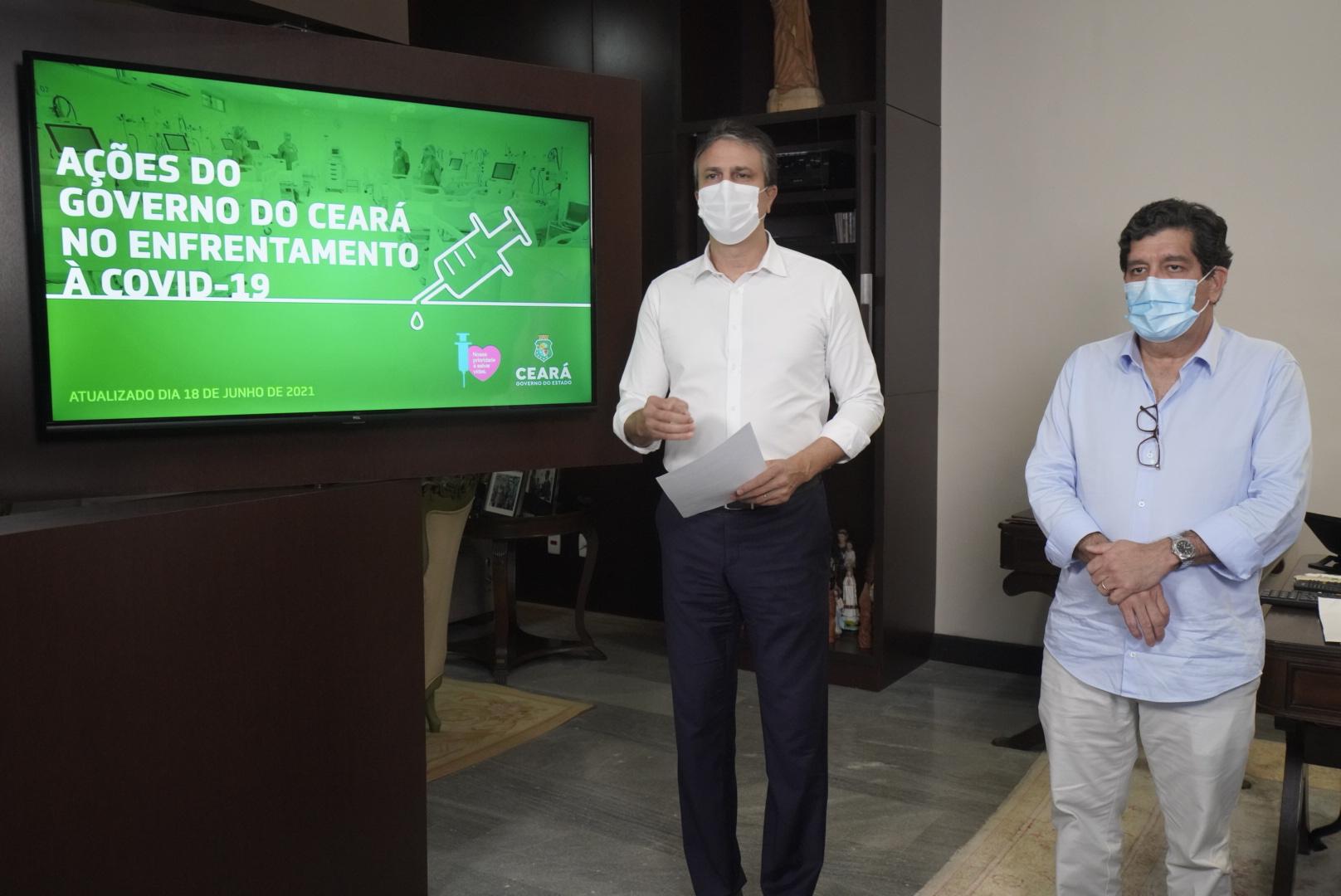 Decreto é renovado sem alterações; Ceará terá pacto pelo controle da pandemia