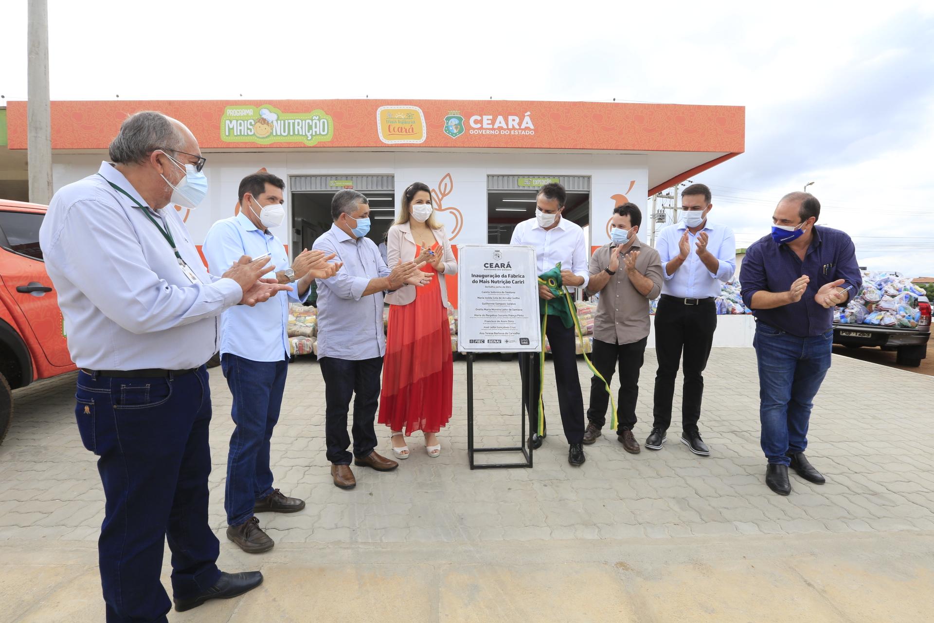 Governo do Ceará implanta Fábrica do Programa Mais Nutrição no Cariri